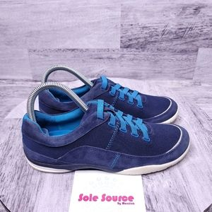 Clarks Cushion Soft No tie Sneakers Blue 7